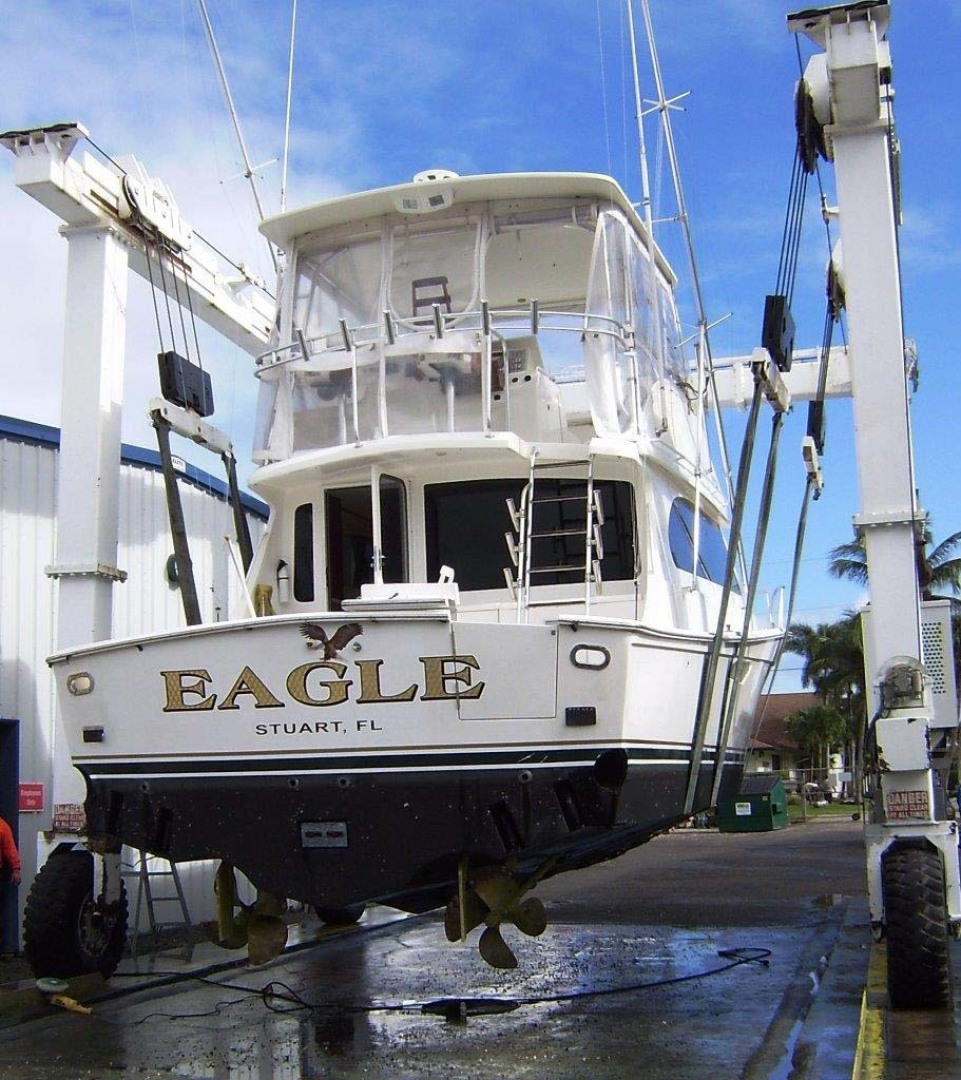 Egg Harbor-43 Sport Yacht 2005-EAGLE Ft. Pierce-Florida-United States-Haul Out-1318525 | Thumbnail