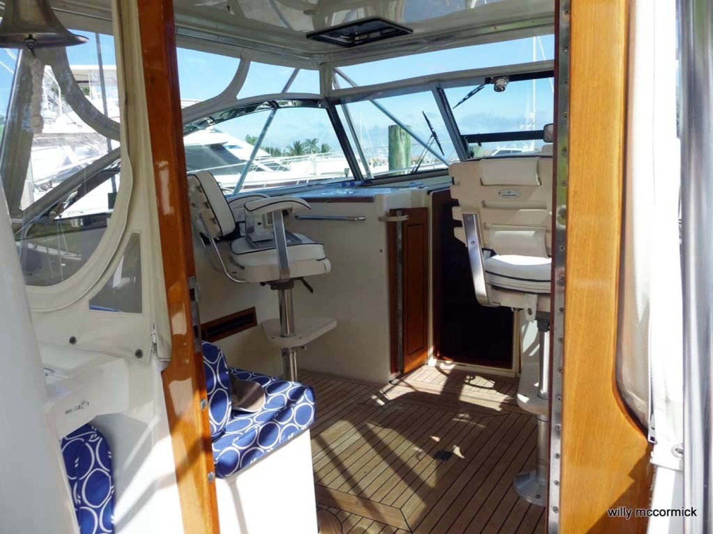 Sabre-36 Express Cruiser 2001-Cause We Can Palm Beach Gardens-Florida-United States-Helm Deck-1318576 | Thumbnail