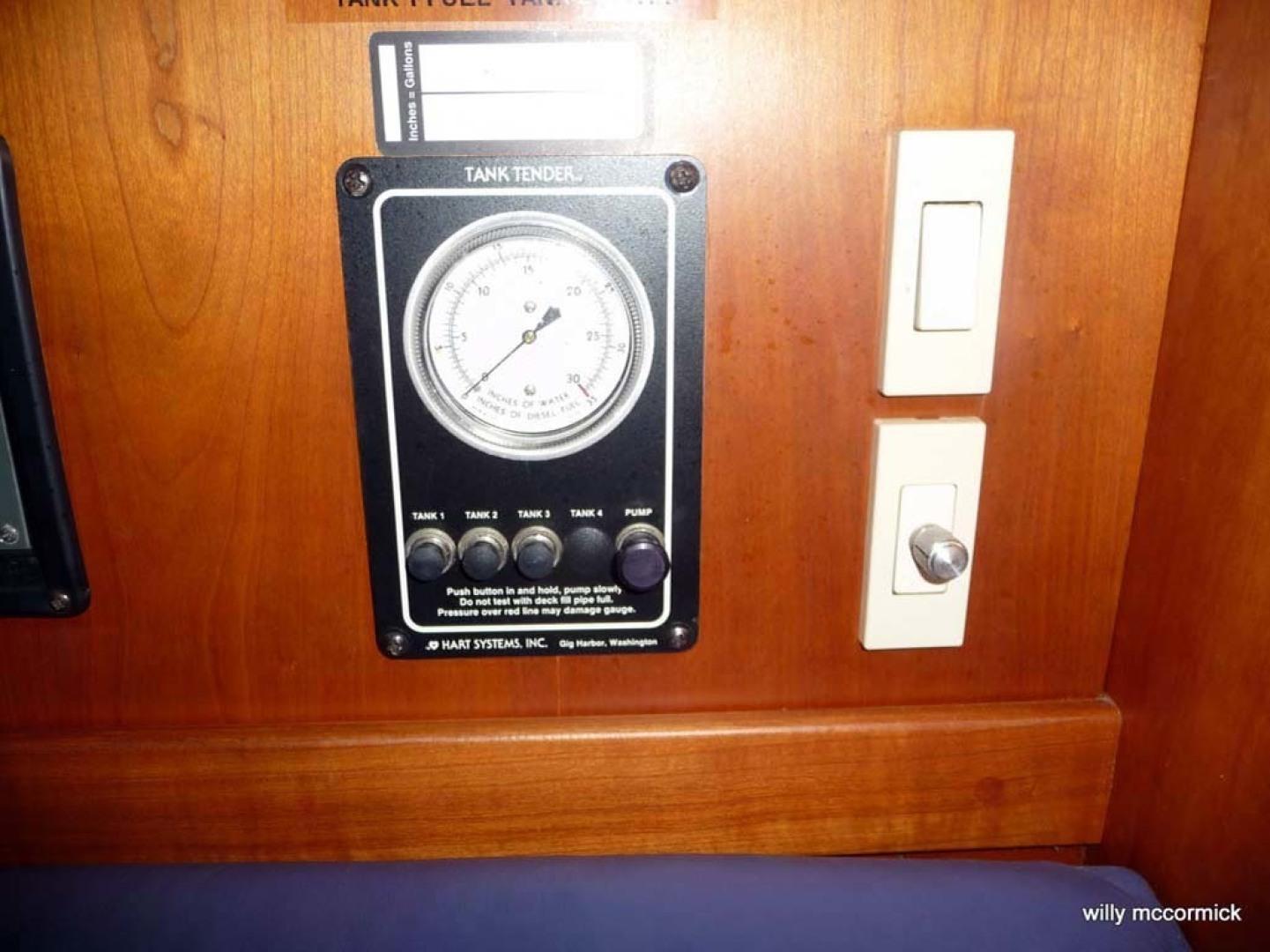 Sabre-36 Express Cruiser 2001-Cause We Can Palm Beach Gardens-Florida-United States-Helm Gauges-1318581 | Thumbnail