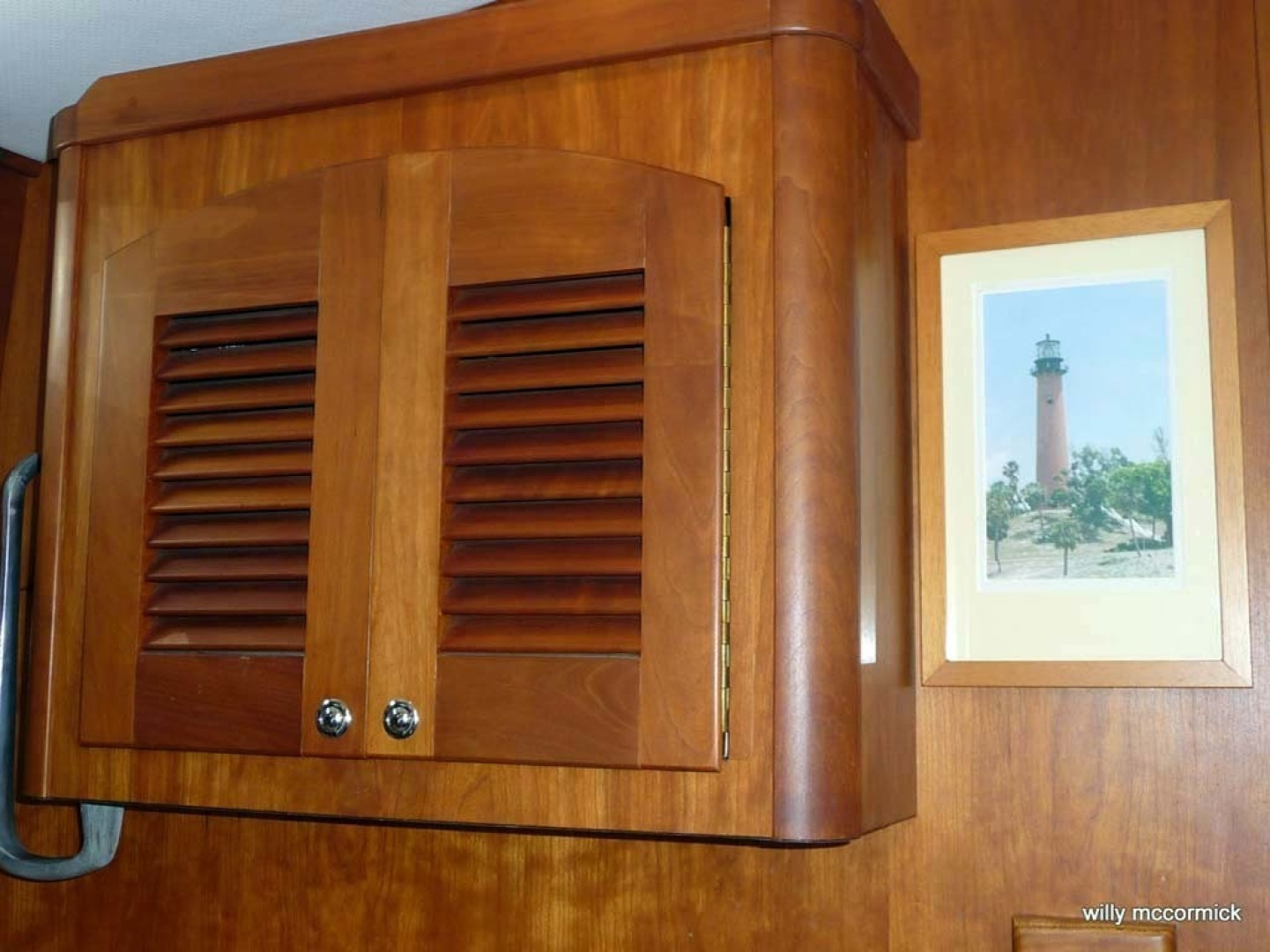 Sabre-36 Express Cruiser 2001-Cause We Can Palm Beach Gardens-Florida-United States-Galley Storage-1318567 | Thumbnail