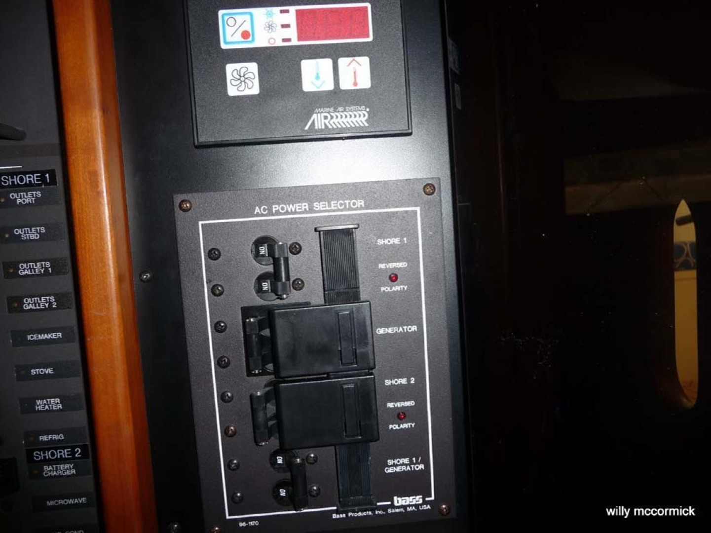Sabre-36 Express Cruiser 2001-Cause We Can Palm Beach Gardens-Florida-United States-Electrical Panel-1318585 | Thumbnail