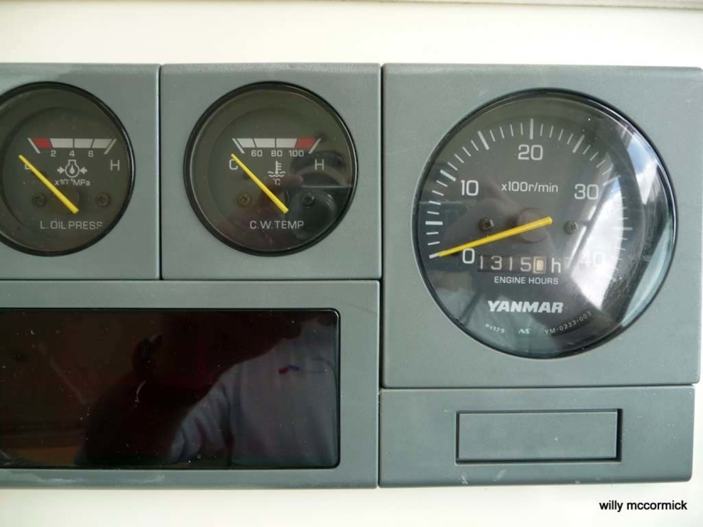 Sabre-36 Express Cruiser 2001-Cause We Can Palm Beach Gardens-Florida-United States-Helm Gauges-1318580 | Thumbnail