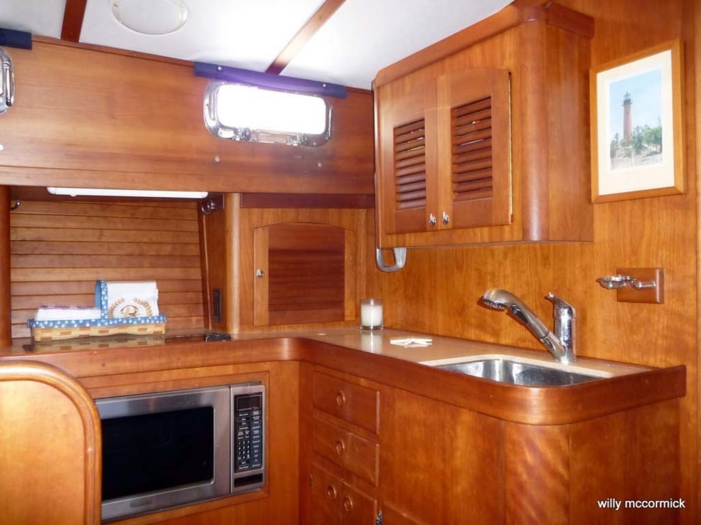Sabre-36 Express Cruiser 2001-Cause We Can Palm Beach Gardens-Florida-United States-Galley-1318566 | Thumbnail