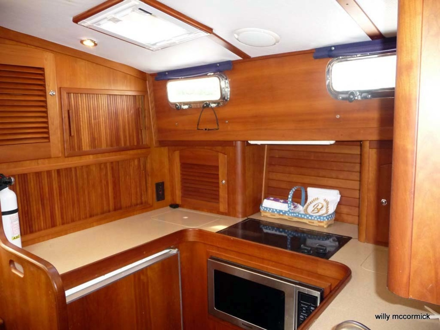 Sabre-36 Express Cruiser 2001-Cause We Can Palm Beach Gardens-Florida-United States-Galley-1318565 | Thumbnail