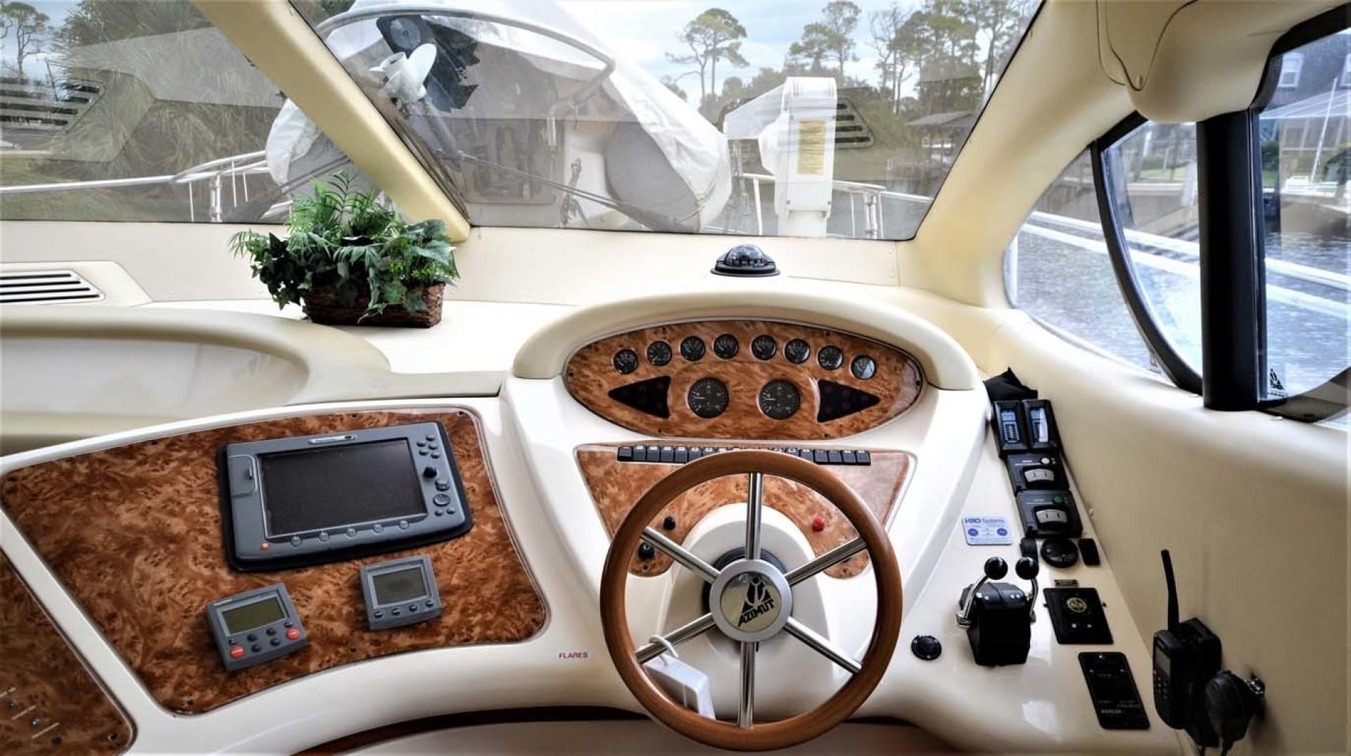 Azimut-46 Motor Yacht 2003-ChrAmy Melbourne-Florida-United States-Lower Helm-1318884 | Thumbnail