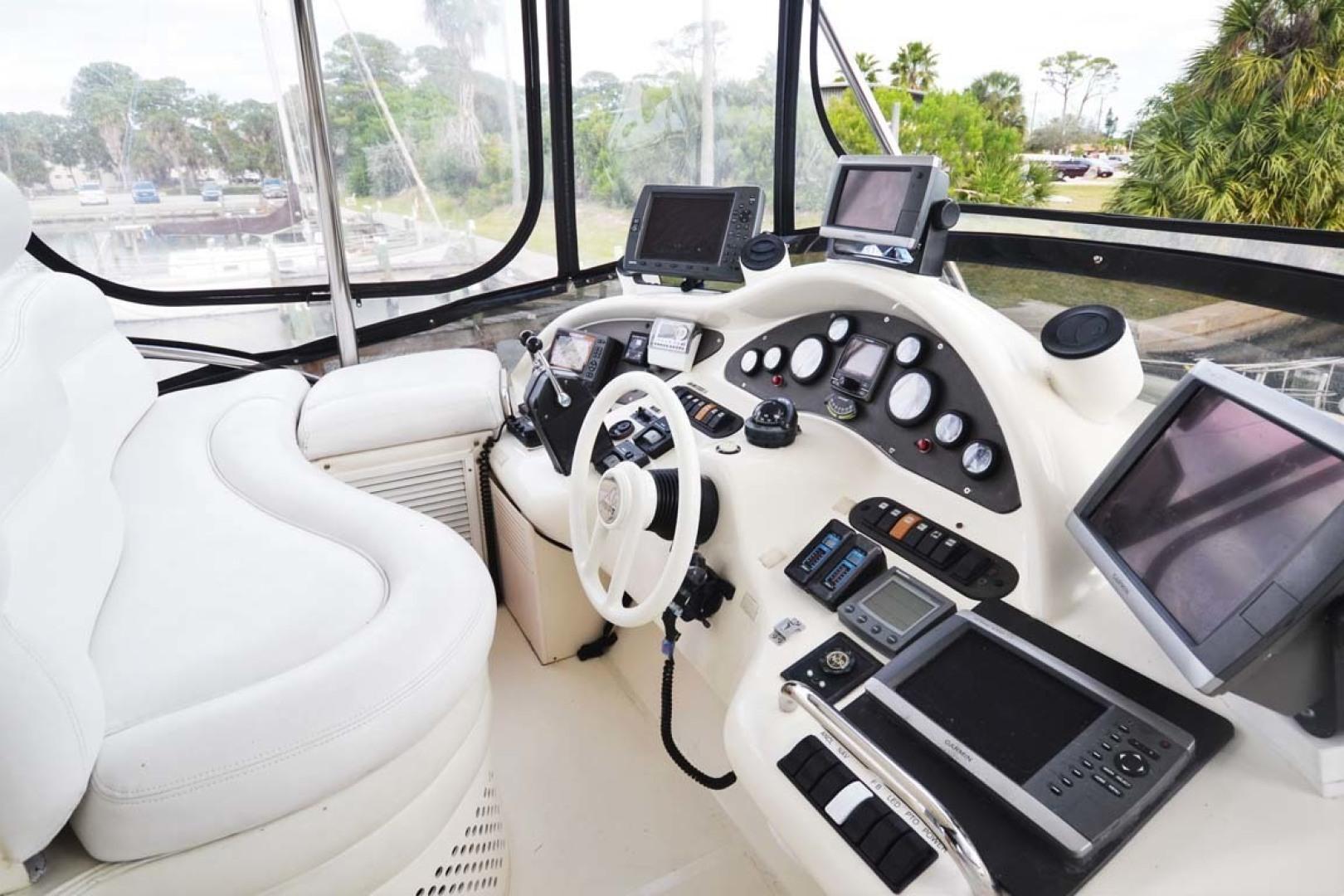 Azimut-46 Motor Yacht 2003-ChrAmy Melbourne-Florida-United States-Helm Seating-1318883 | Thumbnail