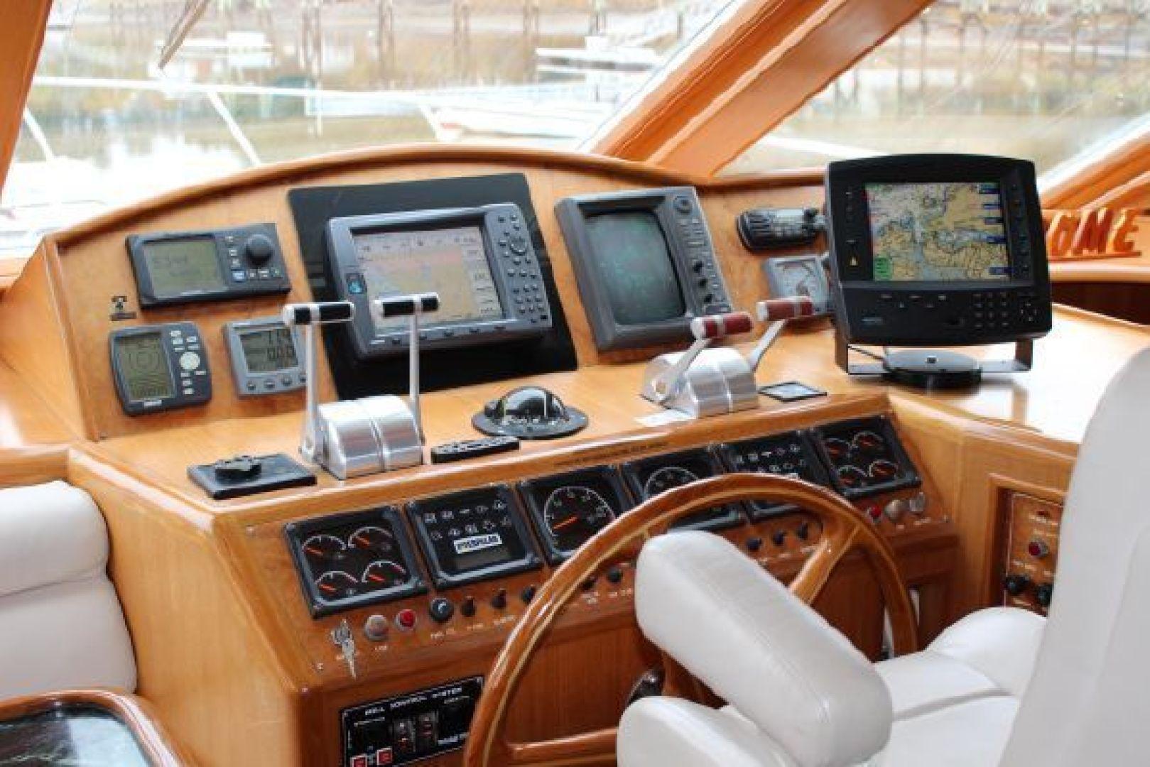 Ocean Alexander-548 Pilothouse 2000 -Cape Charles-Virginia-United States-1318991 | Thumbnail