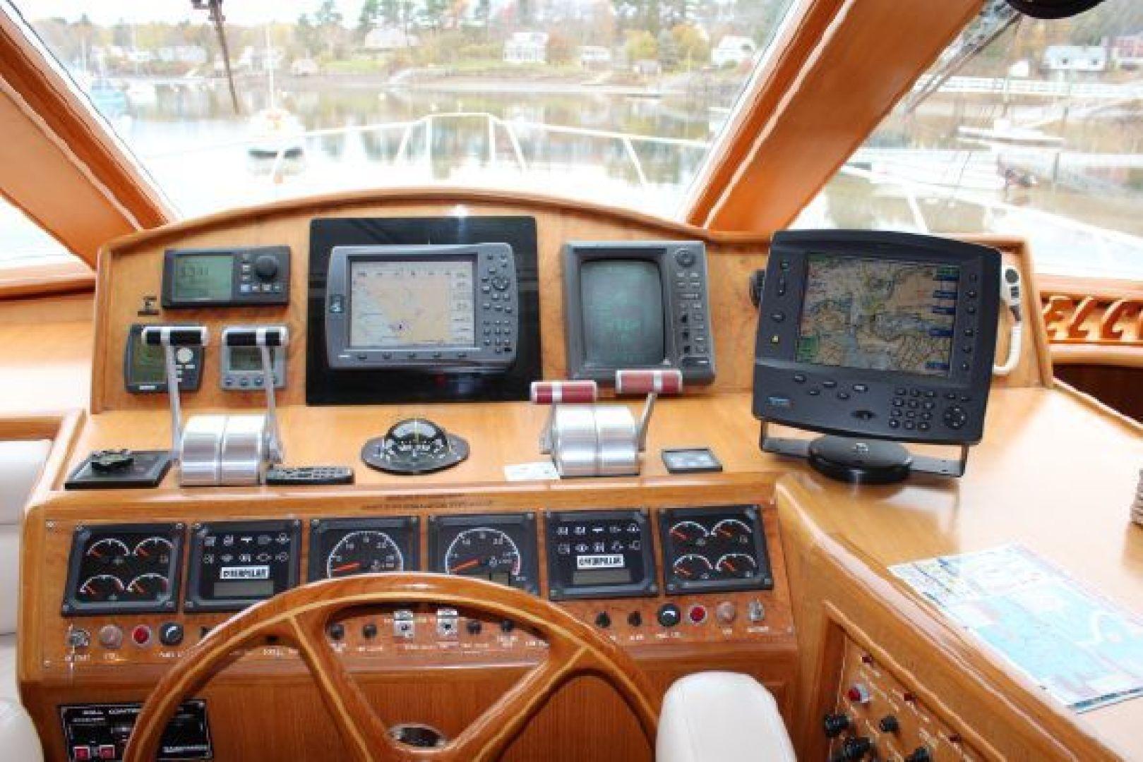 Ocean Alexander-548 Pilothouse 2000 -Cape Charles-Virginia-United States-1318990 | Thumbnail