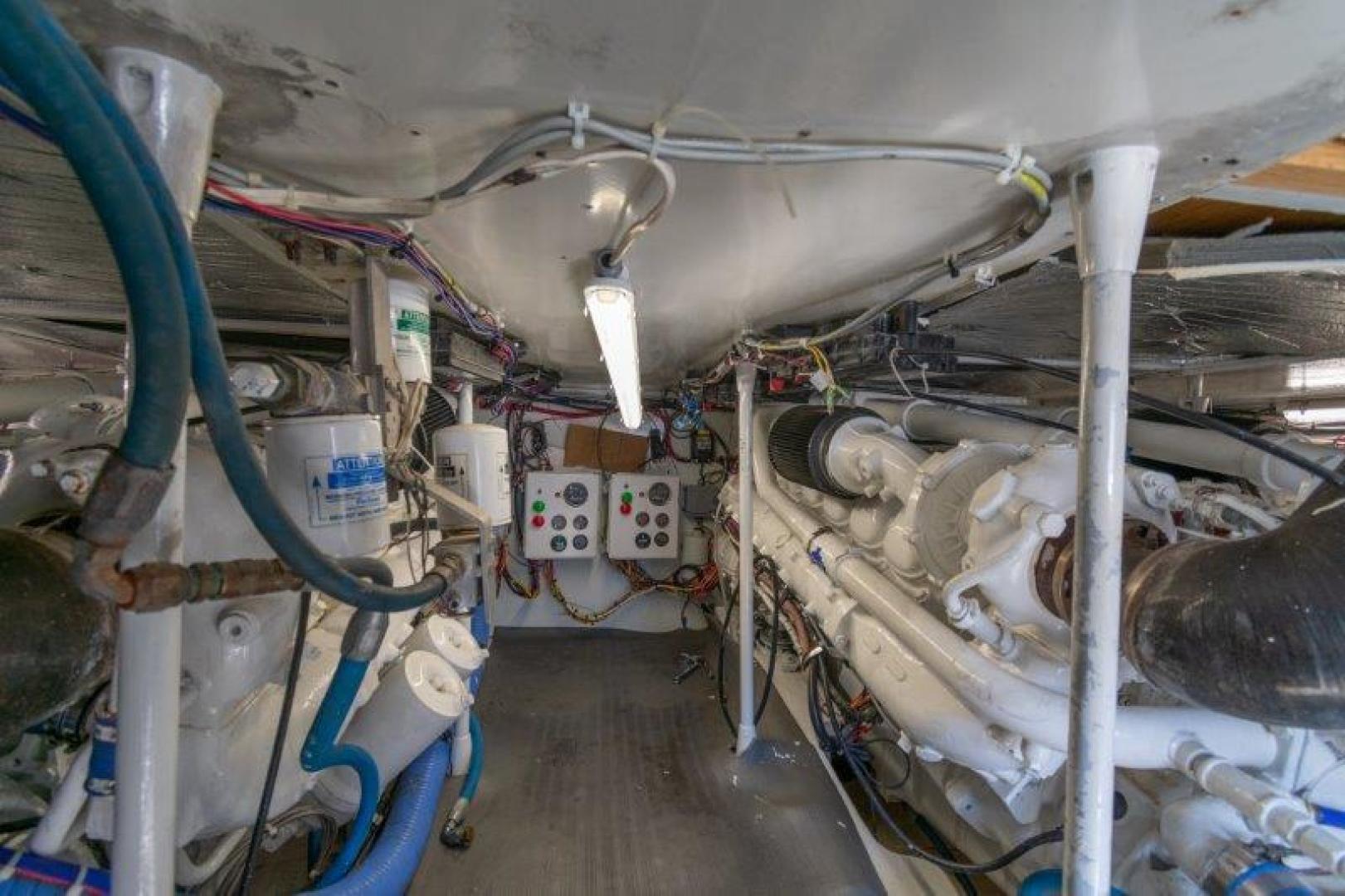 Starship-49 Sportfish 1990-Current Control Galveston-Texas-United States-Starship Sportfish 1990 Current Control Engine Room-1343689 | Thumbnail