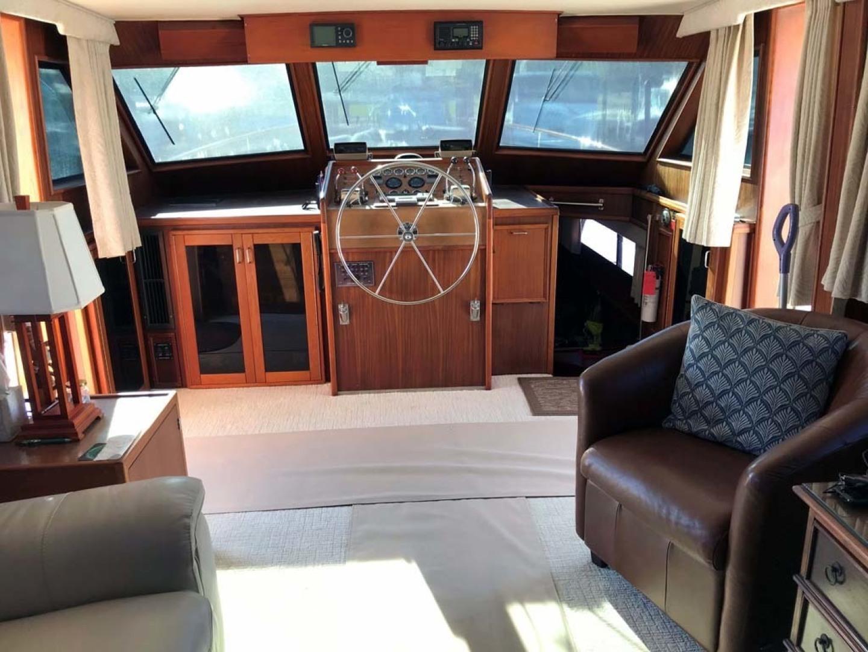 Hatteras-53 Classic Motor Yacht 1984 -Jensen Beach-Florida-United States-Lower Helm-1321248 | Thumbnail