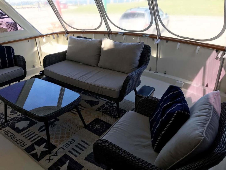 Hatteras-53 Classic Motor Yacht 1984 -Jensen Beach-Florida-United States-Aft Deck-1321251 | Thumbnail