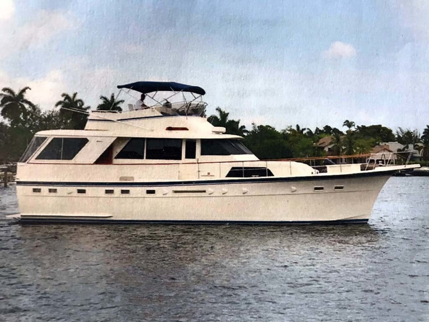Picture Of: 53' Hatteras Motor Yacht Classic 1984 Yacht For Sale | 1 of 17