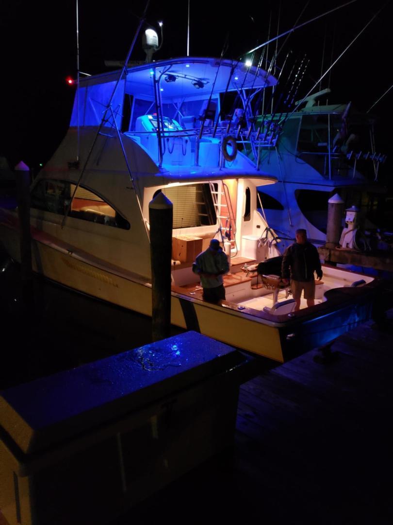 Ocean Yachts-Convertible 2009-Hog Wild Key West-Florida-United States-Underwater Lighting-1322164   Thumbnail