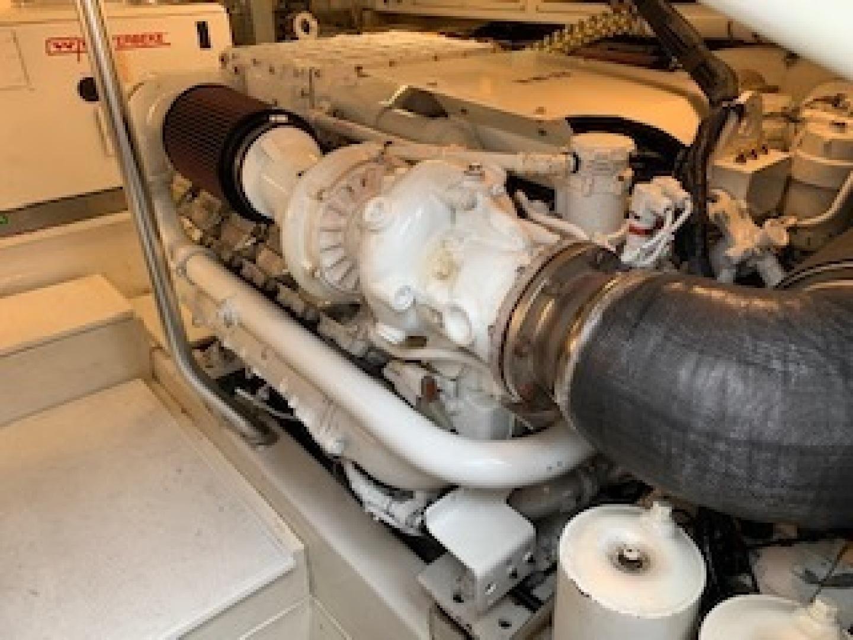 Ocean Yachts-Convertible 2009-Hog Wild Key West-Florida-United States-Engine Room-1322155   Thumbnail