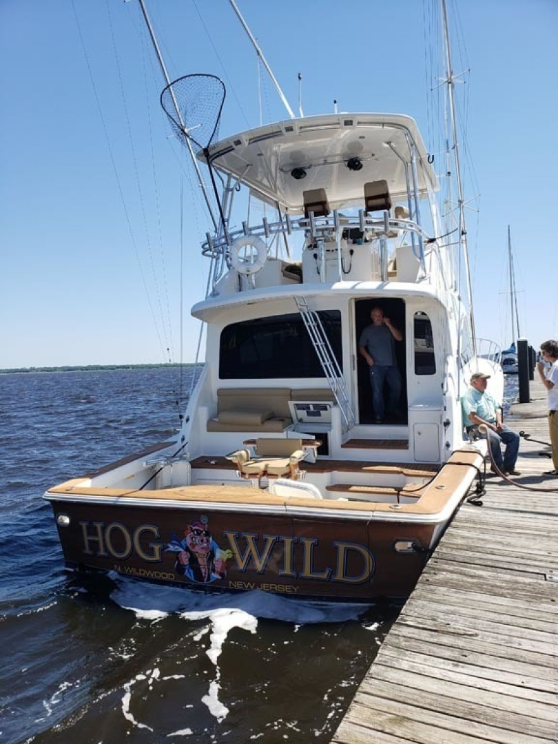 Ocean Yachts-Convertible 2009-Hog Wild Key West-Florida-United States-Stern Profile-1322162   Thumbnail