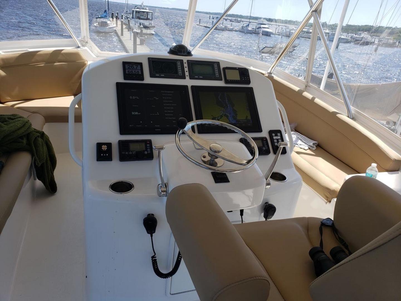 Ocean Yachts-Convertible 2009-Hog Wild Key West-Florida-United States-Flybridge Helm-1322151   Thumbnail