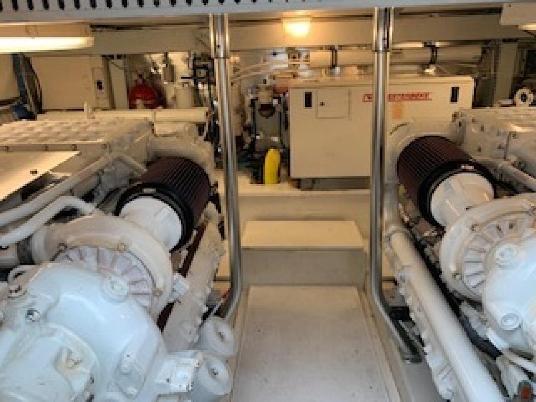 Ocean Yachts-Convertible 2009-Hog Wild Key West-Florida-United States-Engine Room-1322154   Thumbnail
