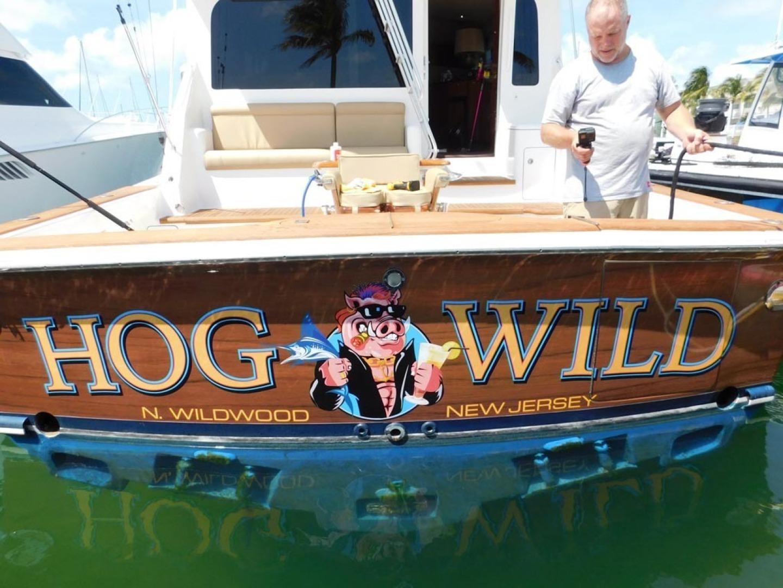 Ocean Yachts-Convertible 2009-Hog Wild Key West-Florida-United States-Transom-1322163   Thumbnail