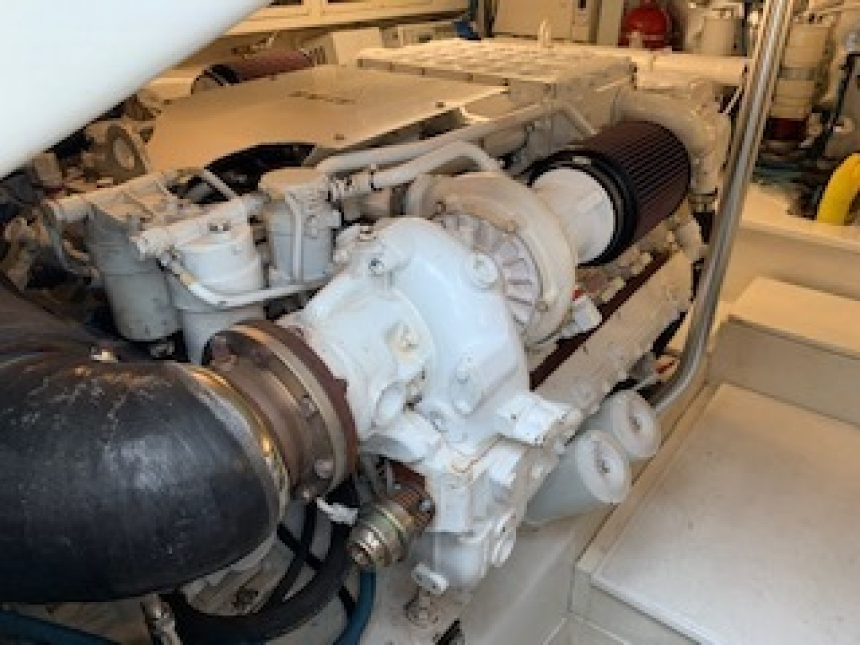 Ocean Yachts-Convertible 2009-Hog Wild Key West-Florida-United States-Engine Room-1322156   Thumbnail