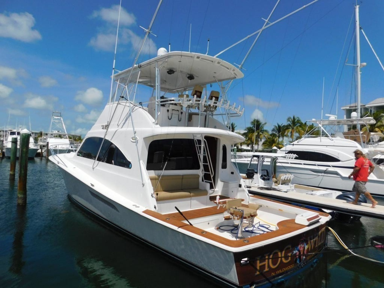 Ocean Yachts-Convertible 2009-Hog Wild Key West-Florida-United States-Port Aft Qtr View-1322134   Thumbnail