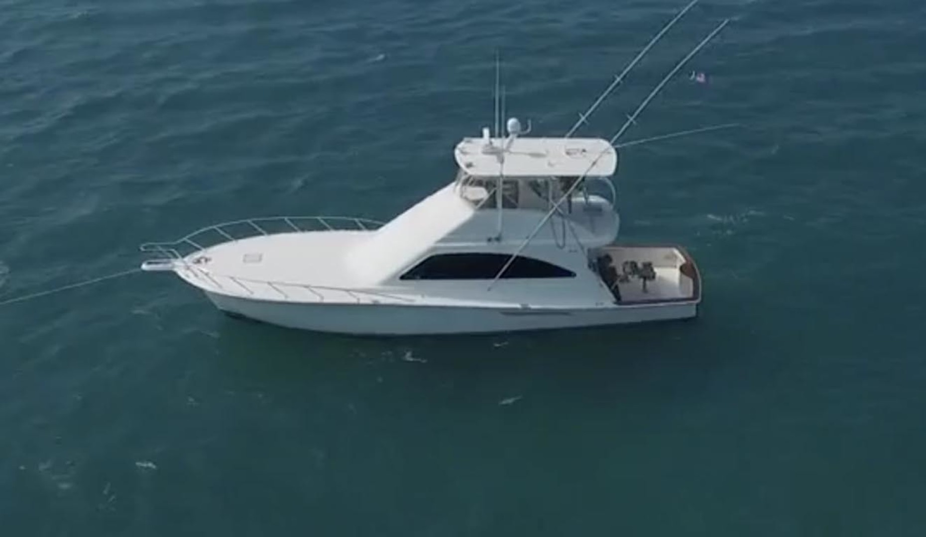 Ocean Yachts-Convertible 2009-Hog Wild Key West-Florida-United States-Aerial Port View-1322132   Thumbnail