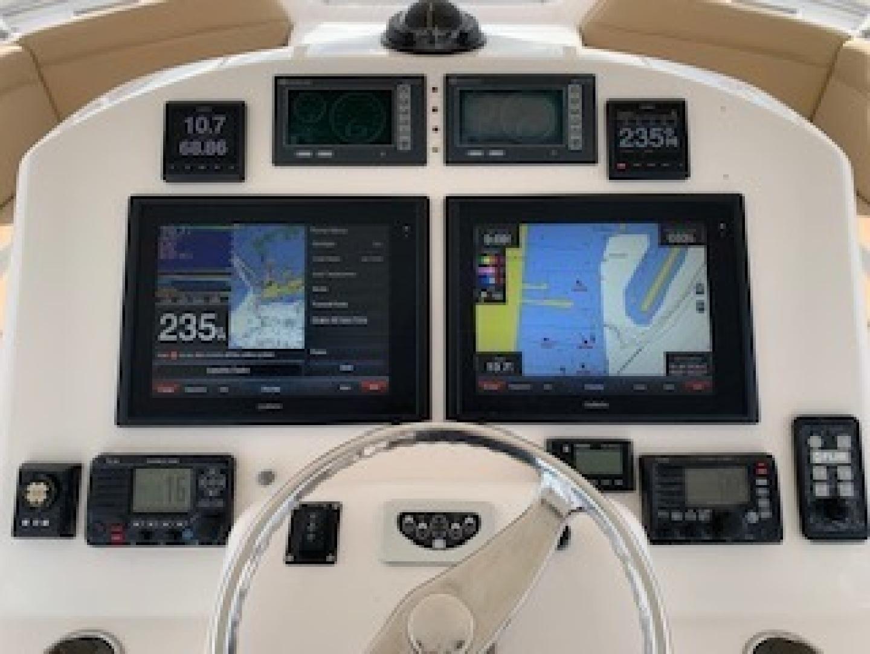 Ocean Yachts-Convertible 2009-Hog Wild Key West-Florida-United States-Helm Instruments-1322152   Thumbnail