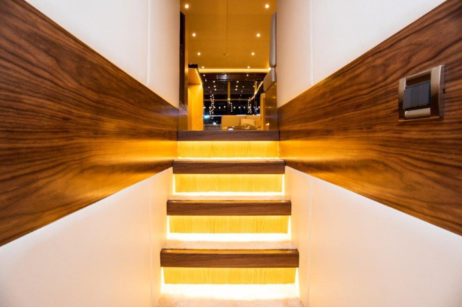 Riviera-Hull #1 2019-INTEGRITY Dubai-United Arab Emirates-Stairway to Lower Deck-1323161 | Thumbnail