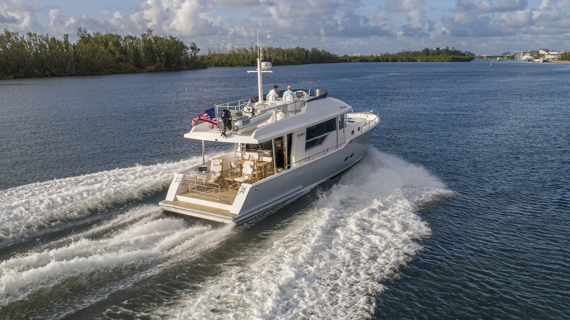 Picture Of: 56' Outback Yachts Dealer Demo 2020 Yacht For Sale | 2 of 29