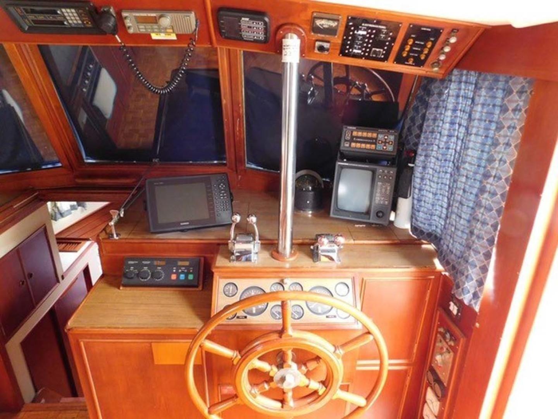 Grand Banks-42 Classic 1990-Stina Marie Merritt Island-Florida-United States-Lower Helm-1323222   Thumbnail