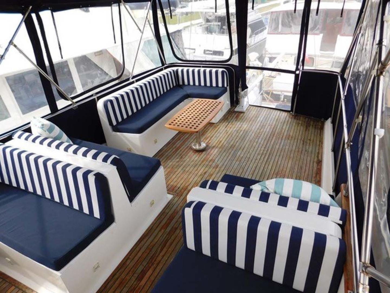 Grand Banks-42 Classic 1990-Stina Marie Merritt Island-Florida-United States-Bridge Seating & Enclosure-1323212   Thumbnail