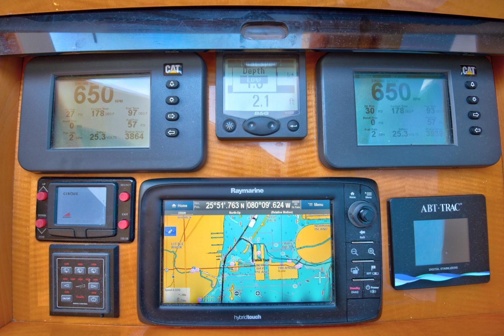 Lazzara-Open Bridge Hard Top 2007-CHIP Miami-Florida-United States-84 Lazzara Helm-1324591 | Thumbnail
