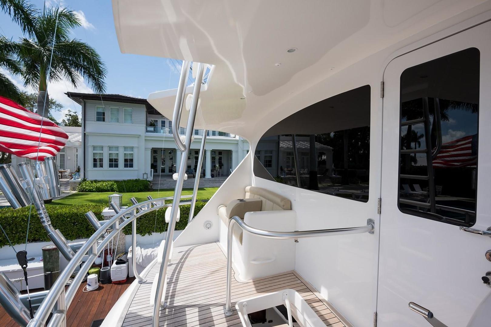 Viking-Enclosed 2013-No Name 82 Miami-Florida-United States-Enclosed Flybridge Aft Deck-1324720 | Thumbnail