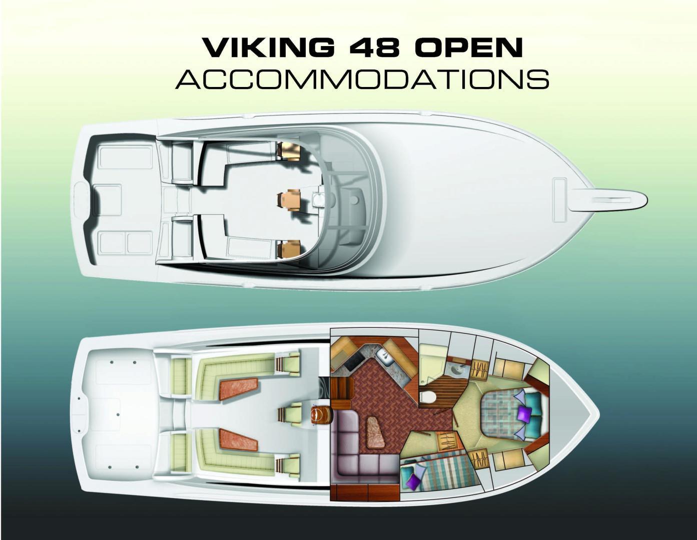 Viking 48 - Layout Accommodations