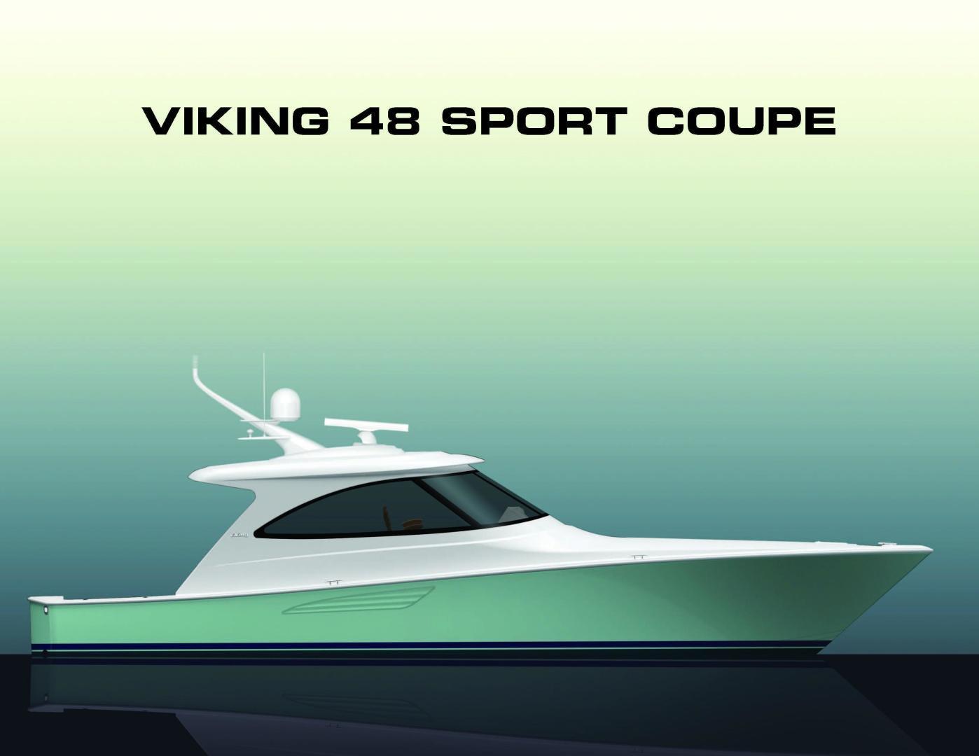 Viking 48 - Sport Coupe - Exterior Profile