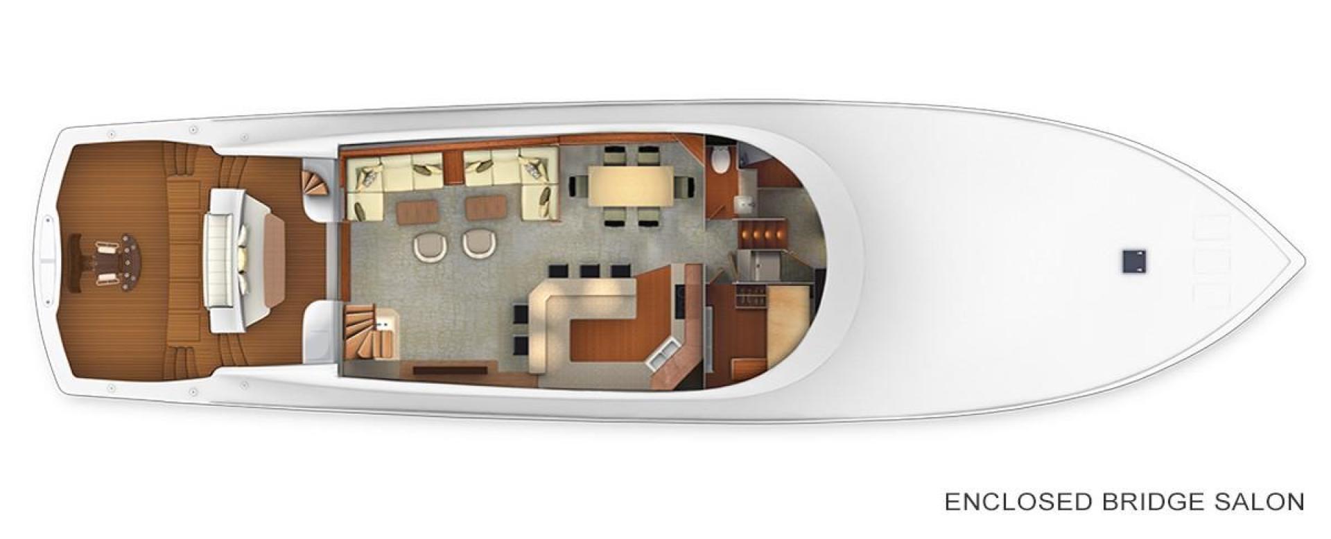 Viking 92 - Main Floor Layout