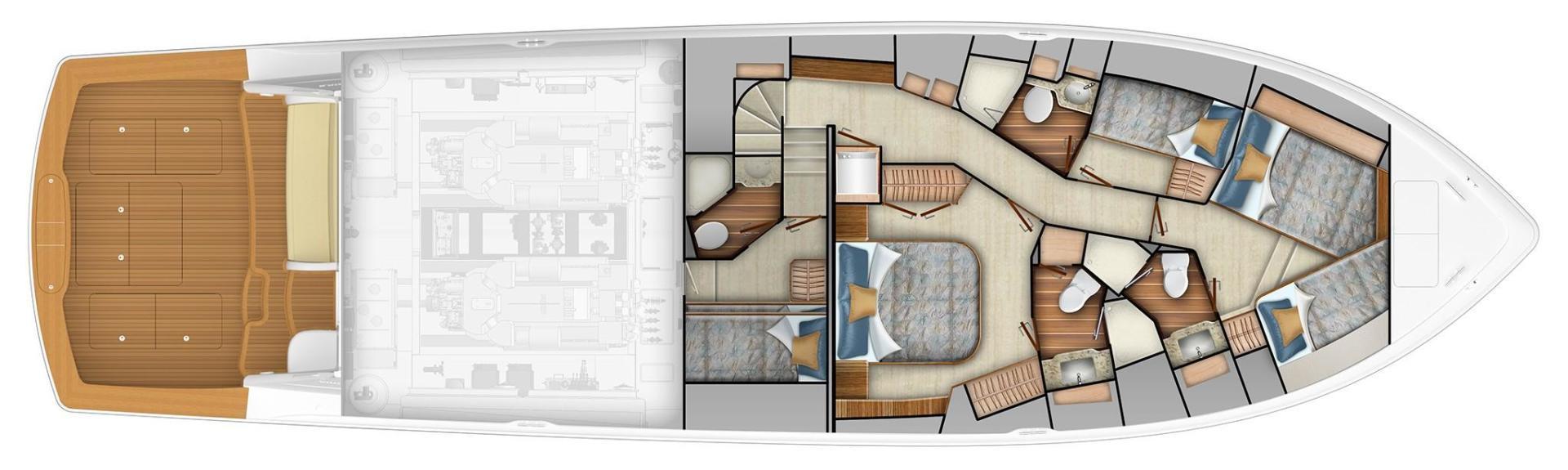 Lower Interior Layout