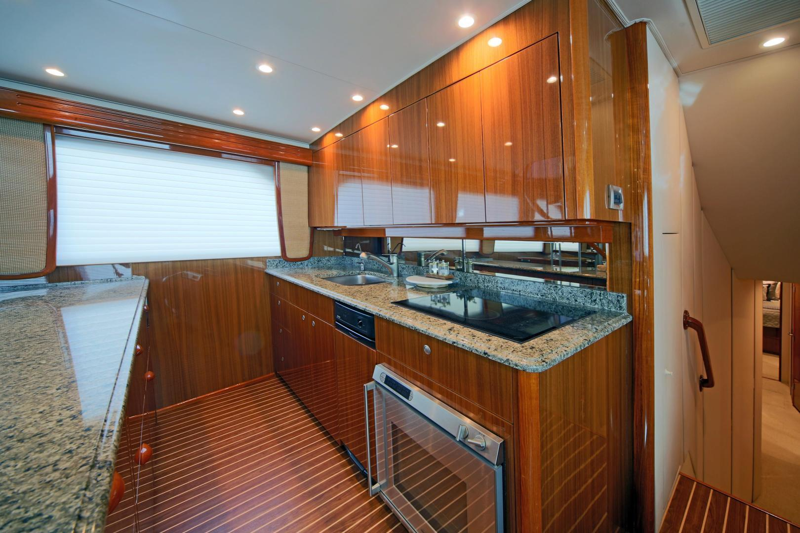 Viking-68 Enclosed Bridge 2008-Liquid Apple Fort Lauderdale-Florida-United States-Galley-1328505 | Thumbnail