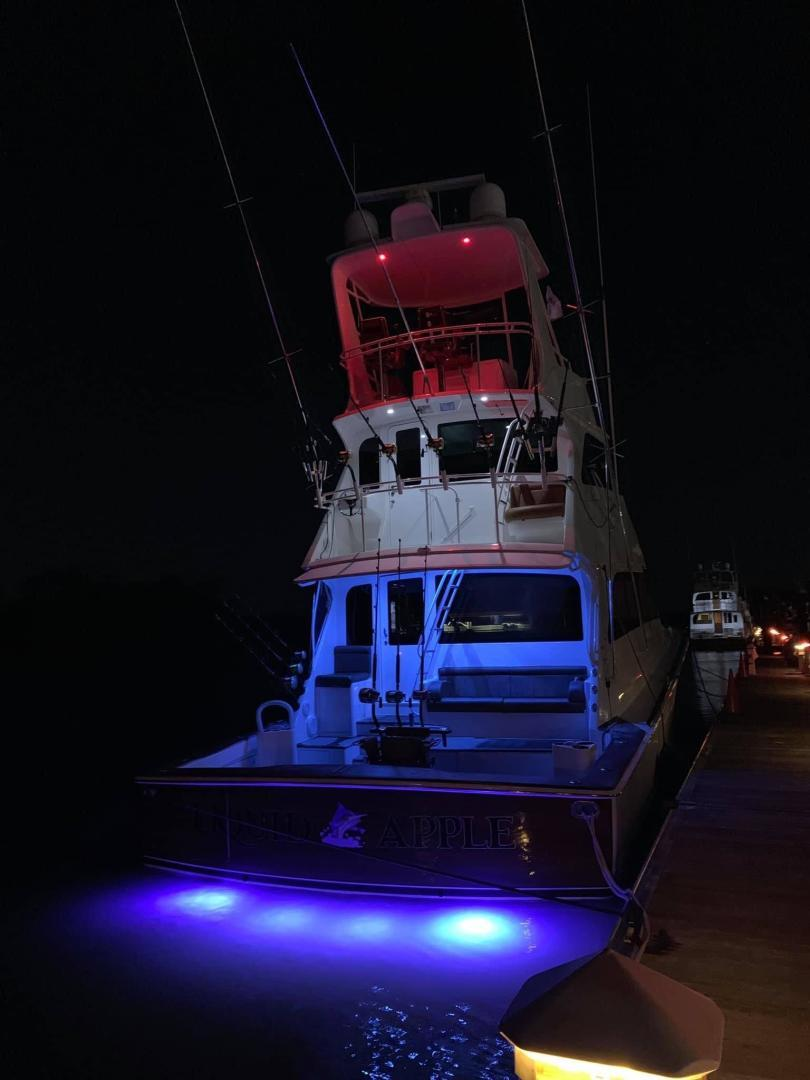 Viking-68 Enclosed Bridge 2008-Liquid Apple Fort Lauderdale-Florida-United States-Underwater Lights-1328527 | Thumbnail