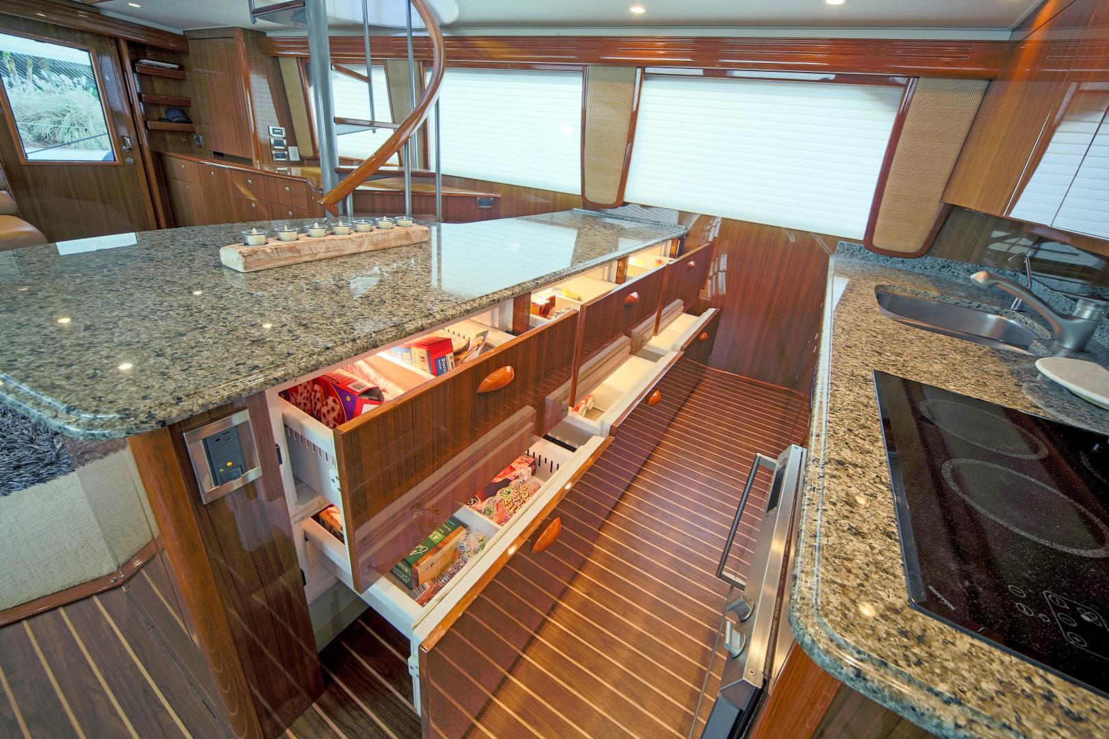 Viking-68 Enclosed Bridge 2008-Liquid Apple Fort Lauderdale-Florida-United States-Galley-1328506 | Thumbnail