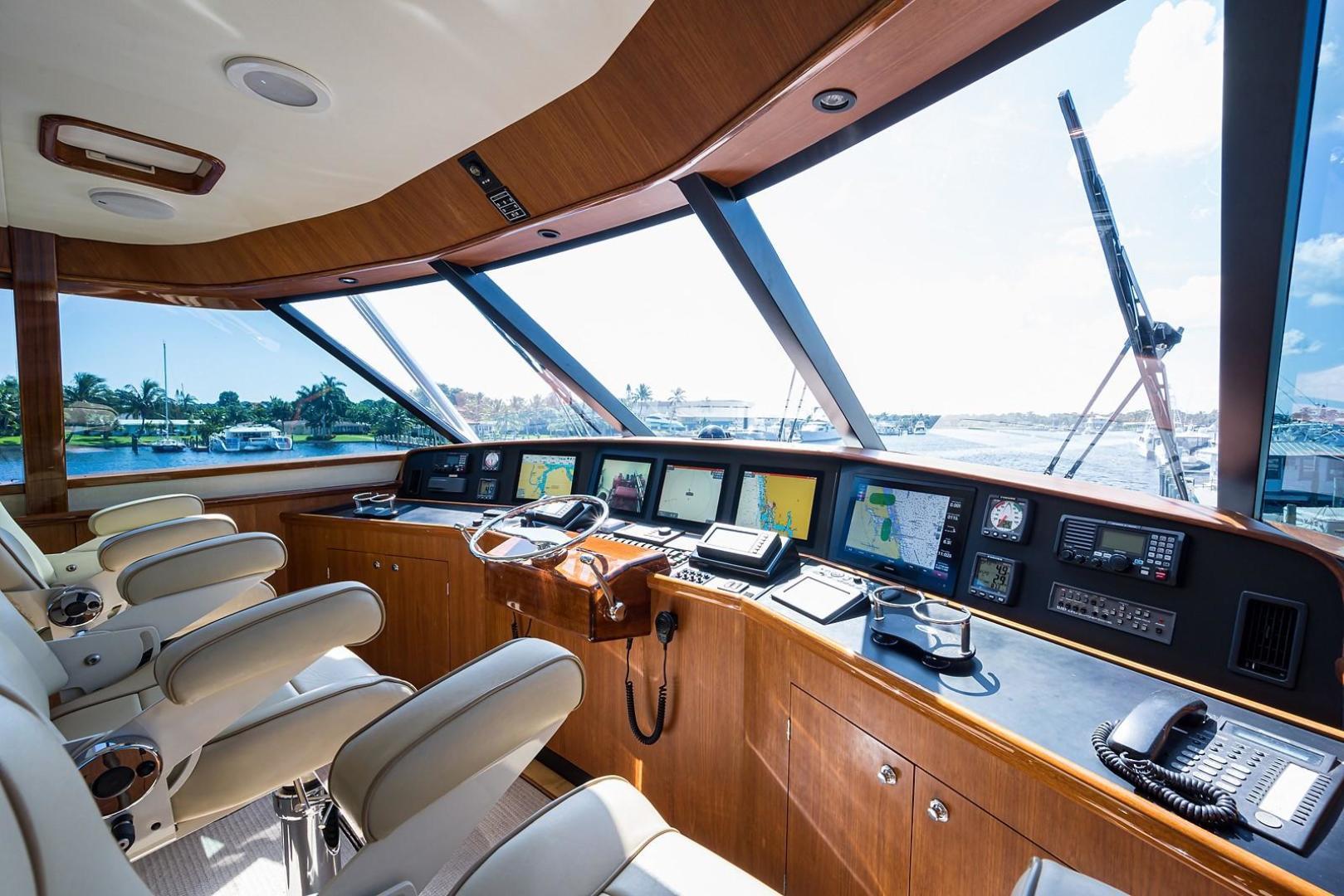 Enclosed Flybridge