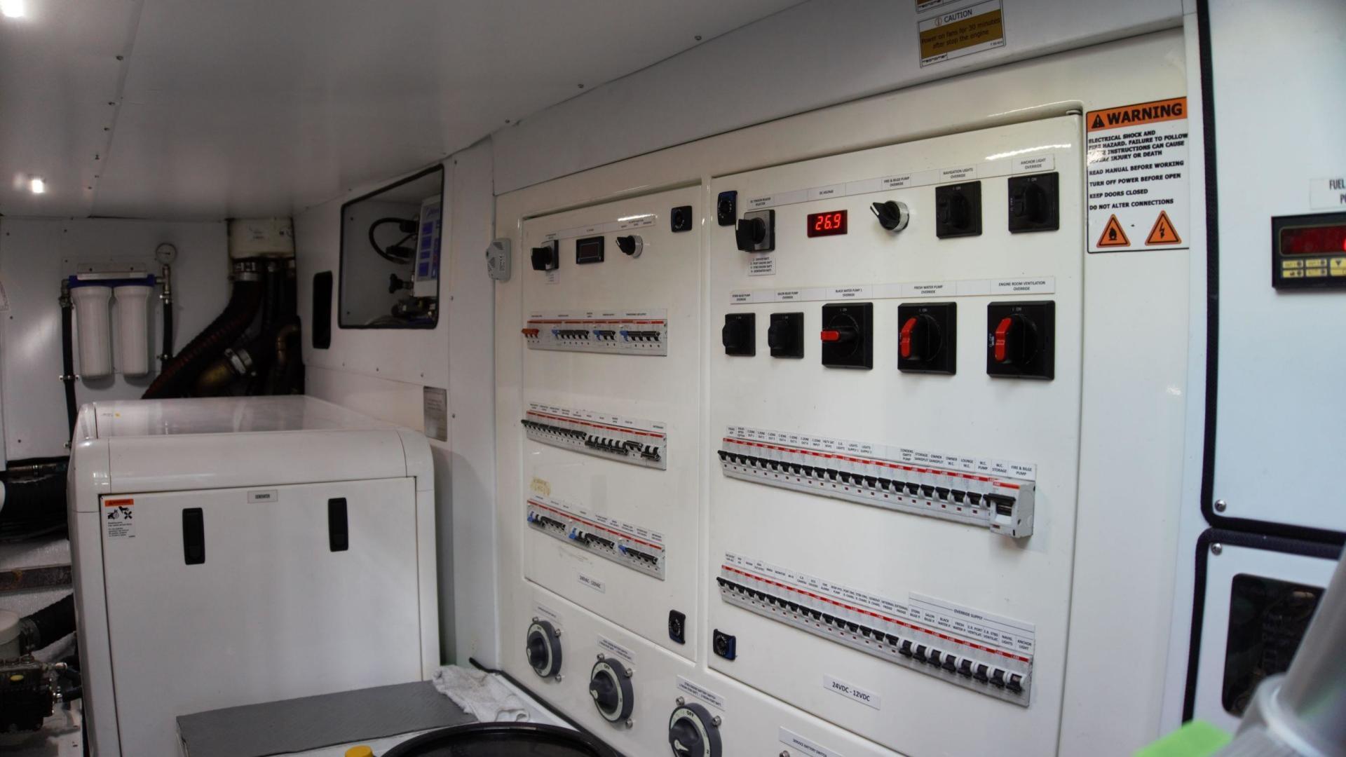 Tecnomar 55 -Engine Room