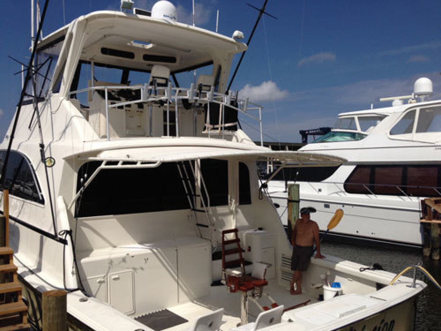 Ocean Yachts-Convertible 1991-T Back Fort Lauderdale-Florida-United States-1337025 | Thumbnail