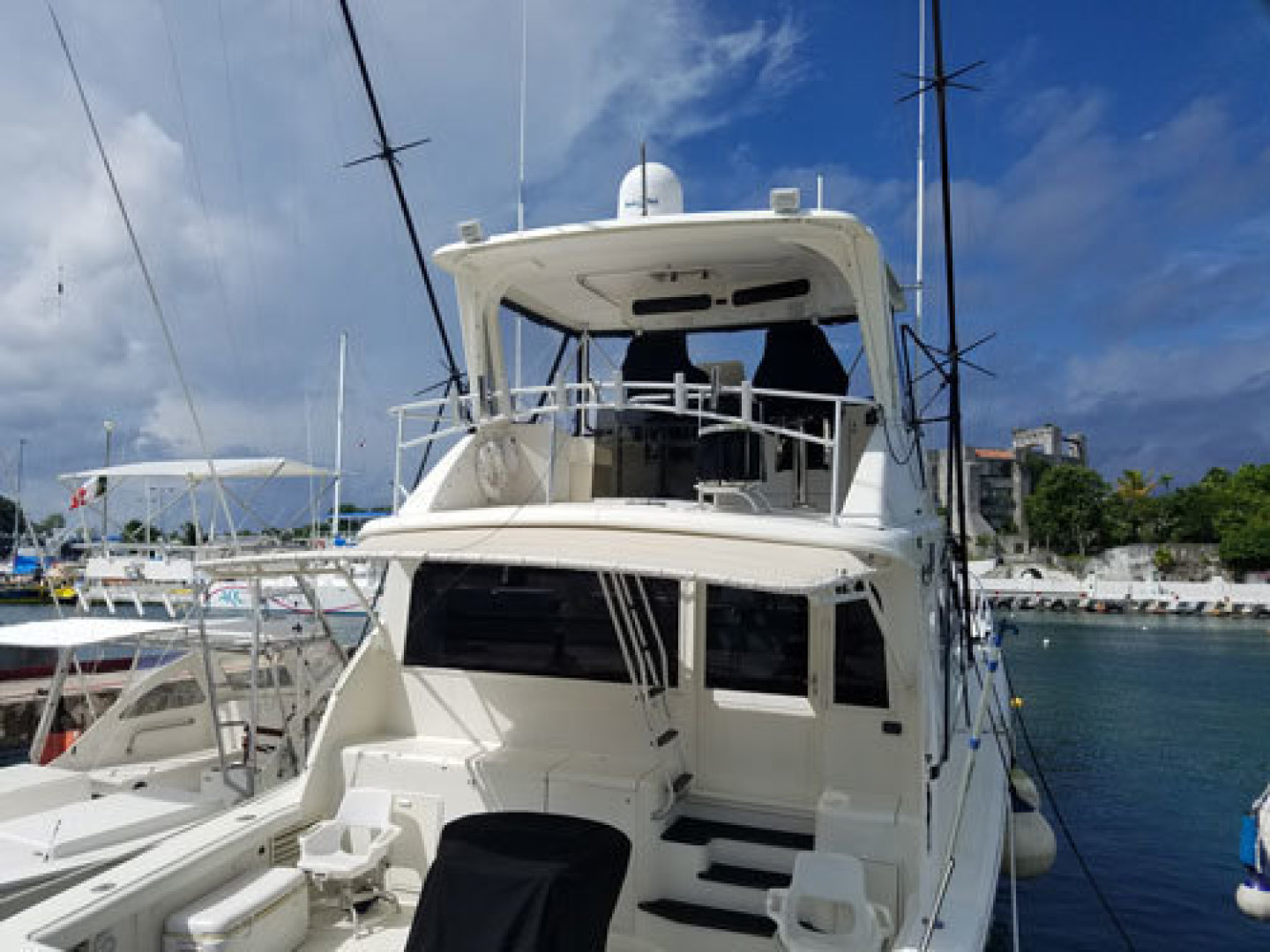 Ocean Yachts-Convertible 1991-T Back Fort Lauderdale-Florida-United States-1337026 | Thumbnail