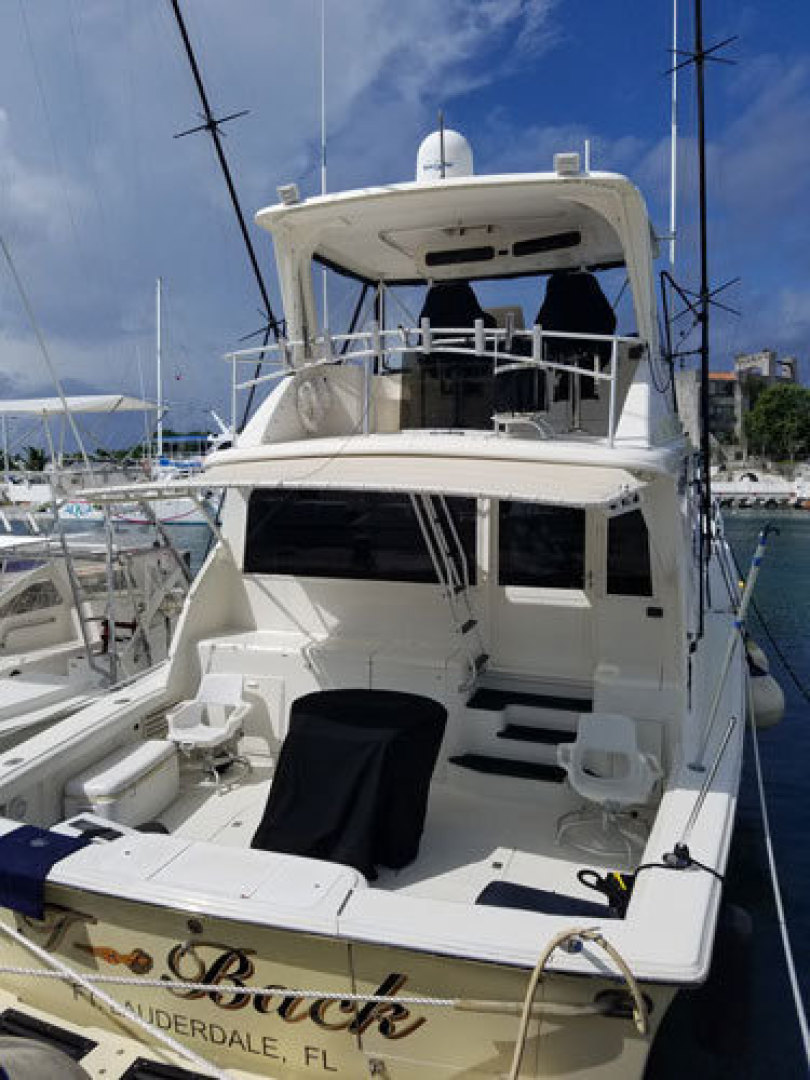 Ocean Yachts-Convertible 1991-T Back Fort Lauderdale-Florida-United States-1337024 | Thumbnail