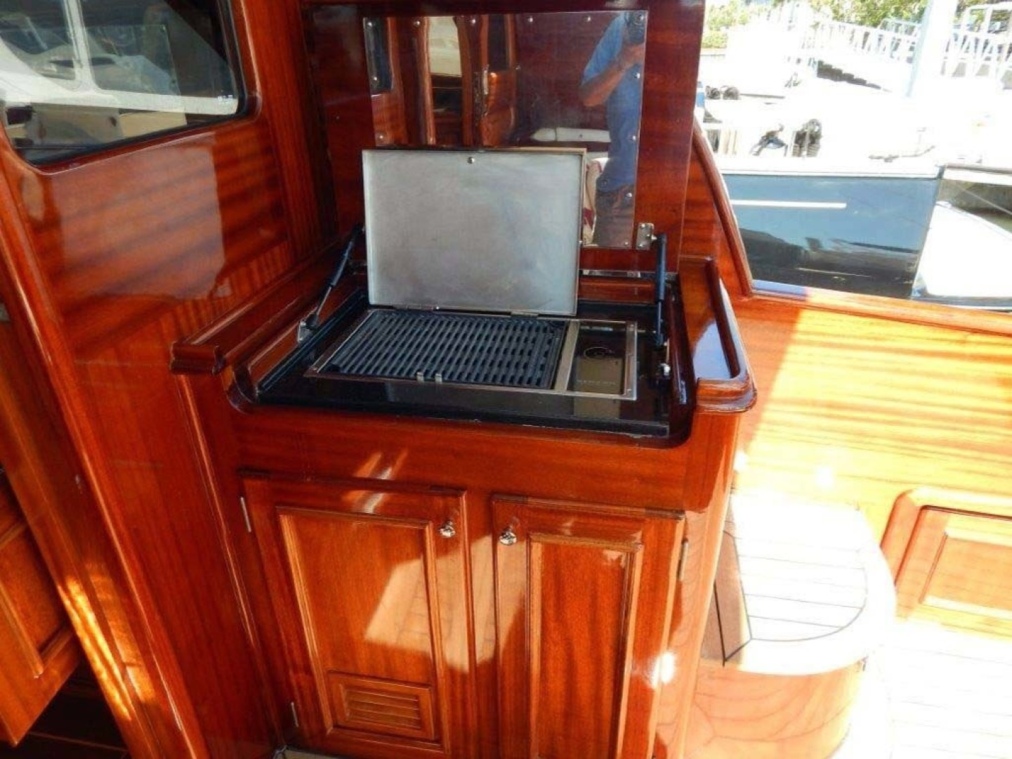 Windsor Craft-by Vicem Yacht 40 Hardtop 2009-Tally II Jacksonville-Florida-United States-Grill-1337763 | Thumbnail