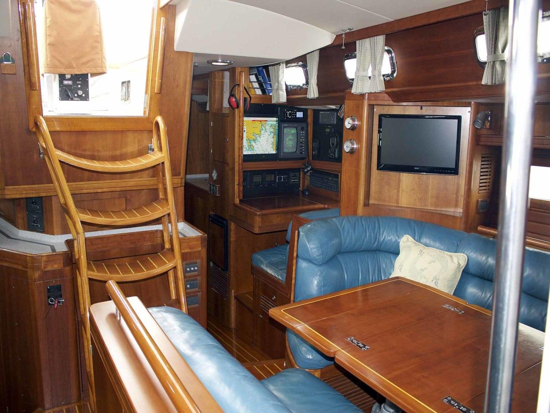 Little Harbor-60 1994-LYNLEY III Somerset-Massachusetts-United States-Salon, Looking Aft-1338744 | Thumbnail