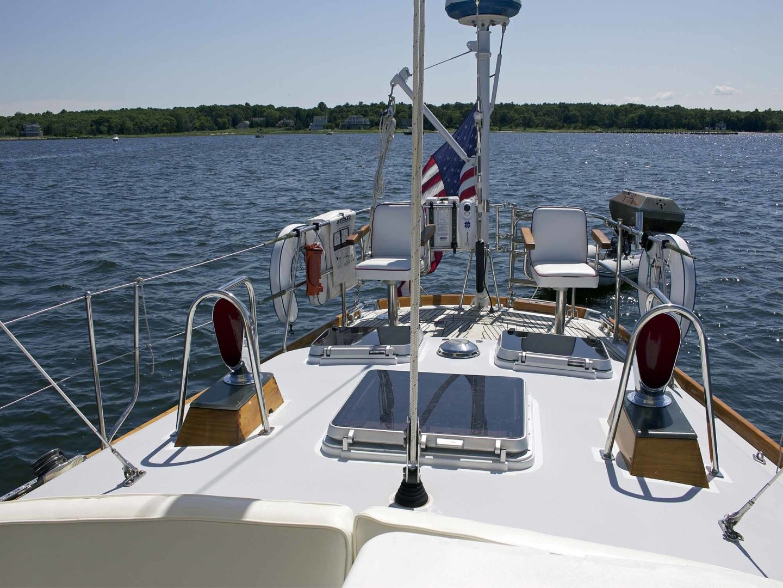 Little Harbor-60 1994-LYNLEY III Somerset-Massachusetts-United States-Aft Deck-1338721 | Thumbnail