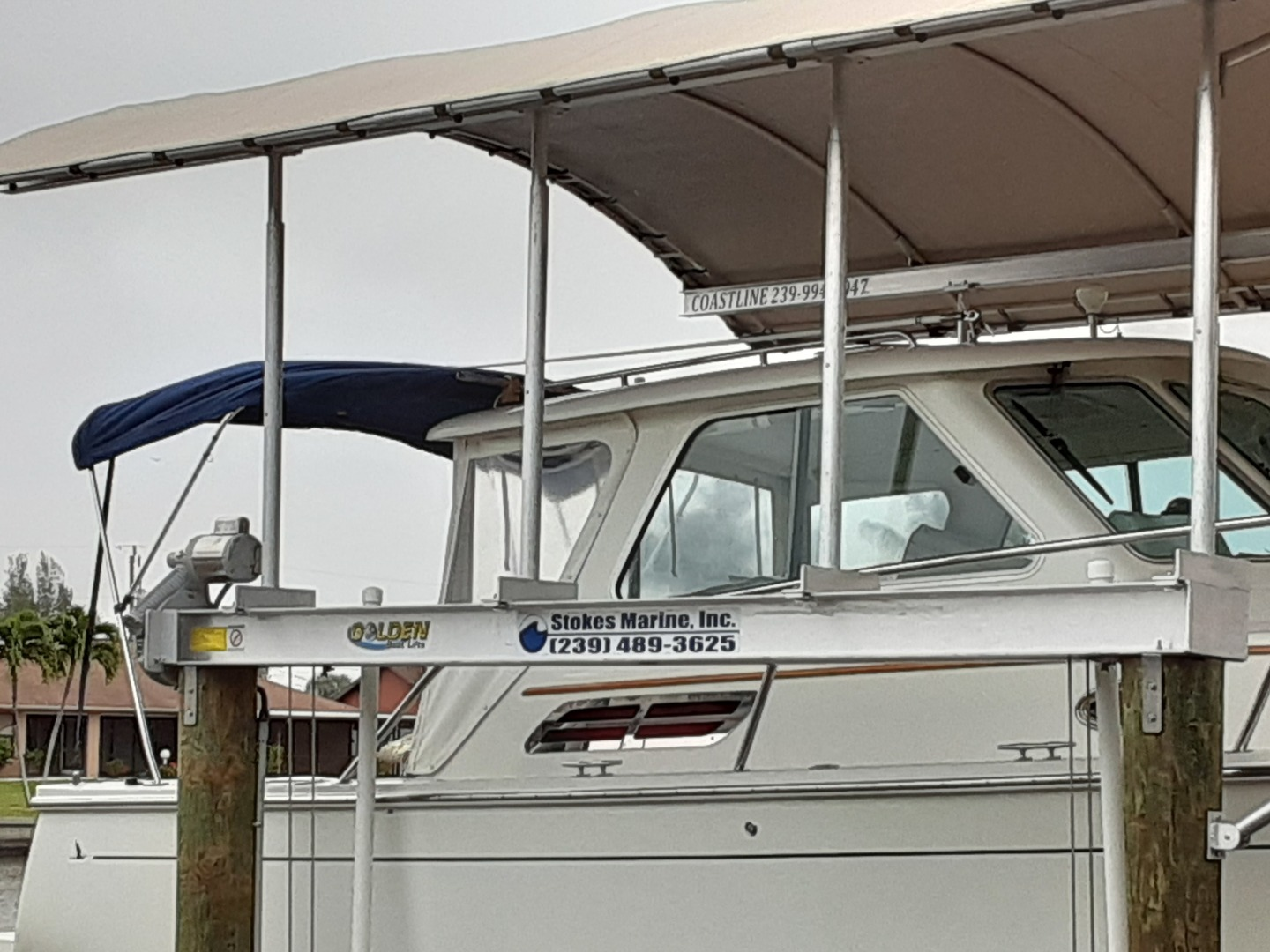 Back Cove-Express 2007-Patronus Cape Coral-Florida-United States-Starboard Pilothouse-1341486 | Thumbnail