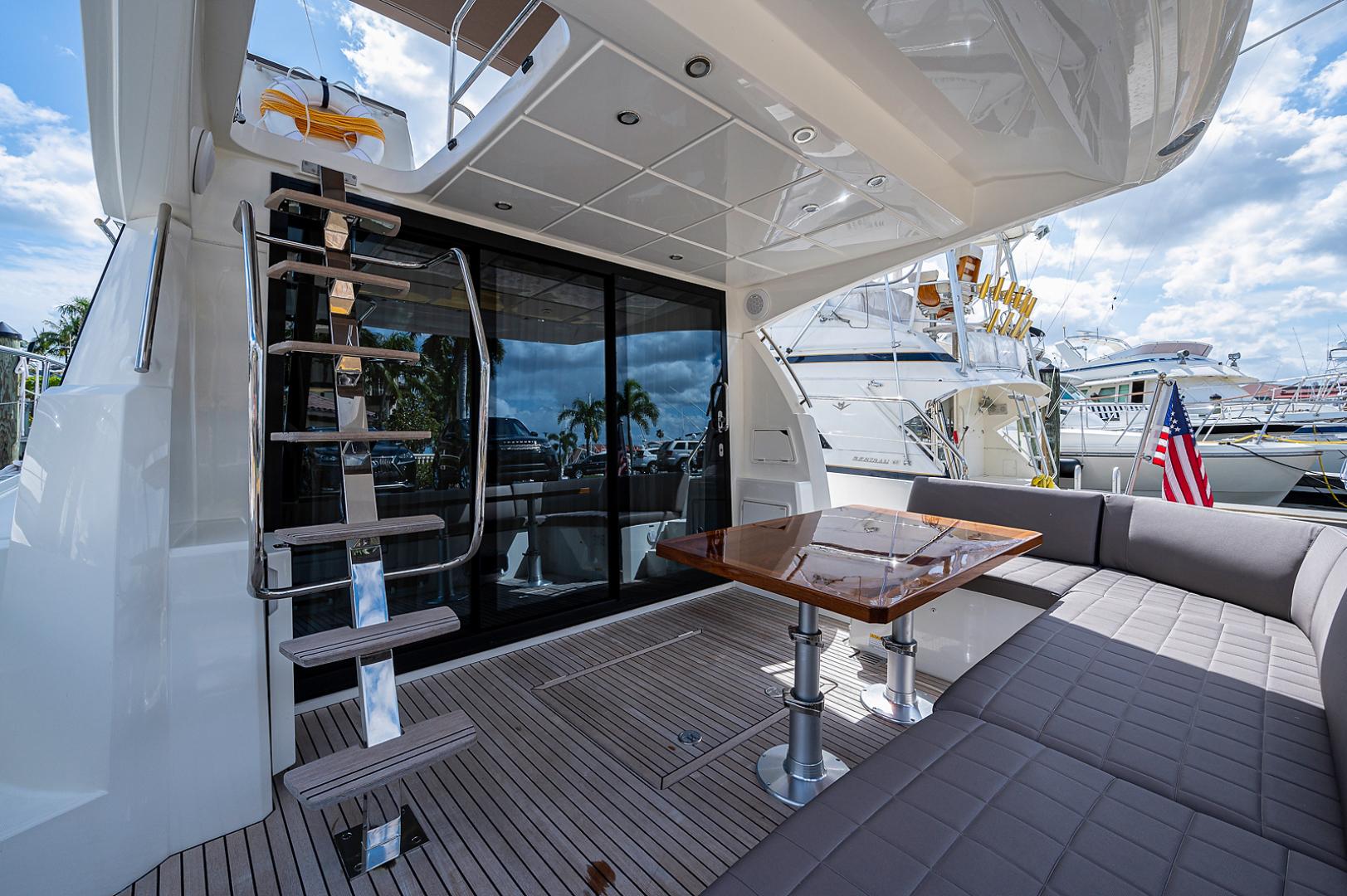 Prestige-460 Flybridge 2018-SEAQUEL Palm Beach Gardens-Florida-United States-Cockpit -1351136 | Thumbnail