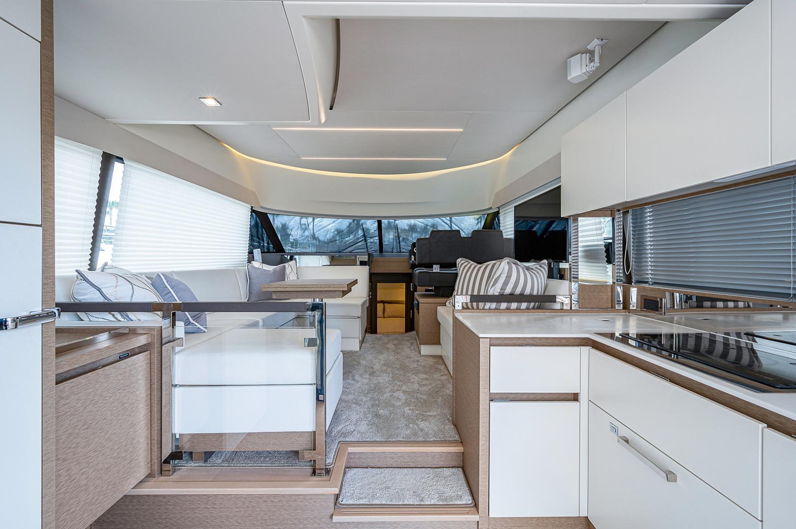 Prestige-460 Flybridge 2018-SEAQUEL Palm Beach Gardens-Florida-United States-Galley/Salon-1351148 | Thumbnail
